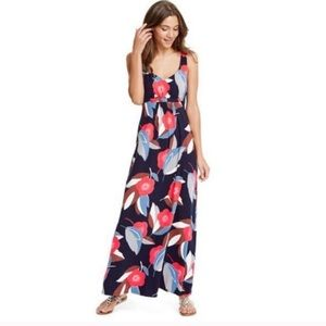 BODEN Blue Floral Maxi Dress